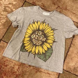"🍊3/$20 ""You Grow Girl"" Grey Outlaw Tee T-Shirt"